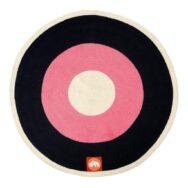 round-rug-raspberry-done-by-deer-speelkleed-vloerkleed-zwart-roze-done-60509