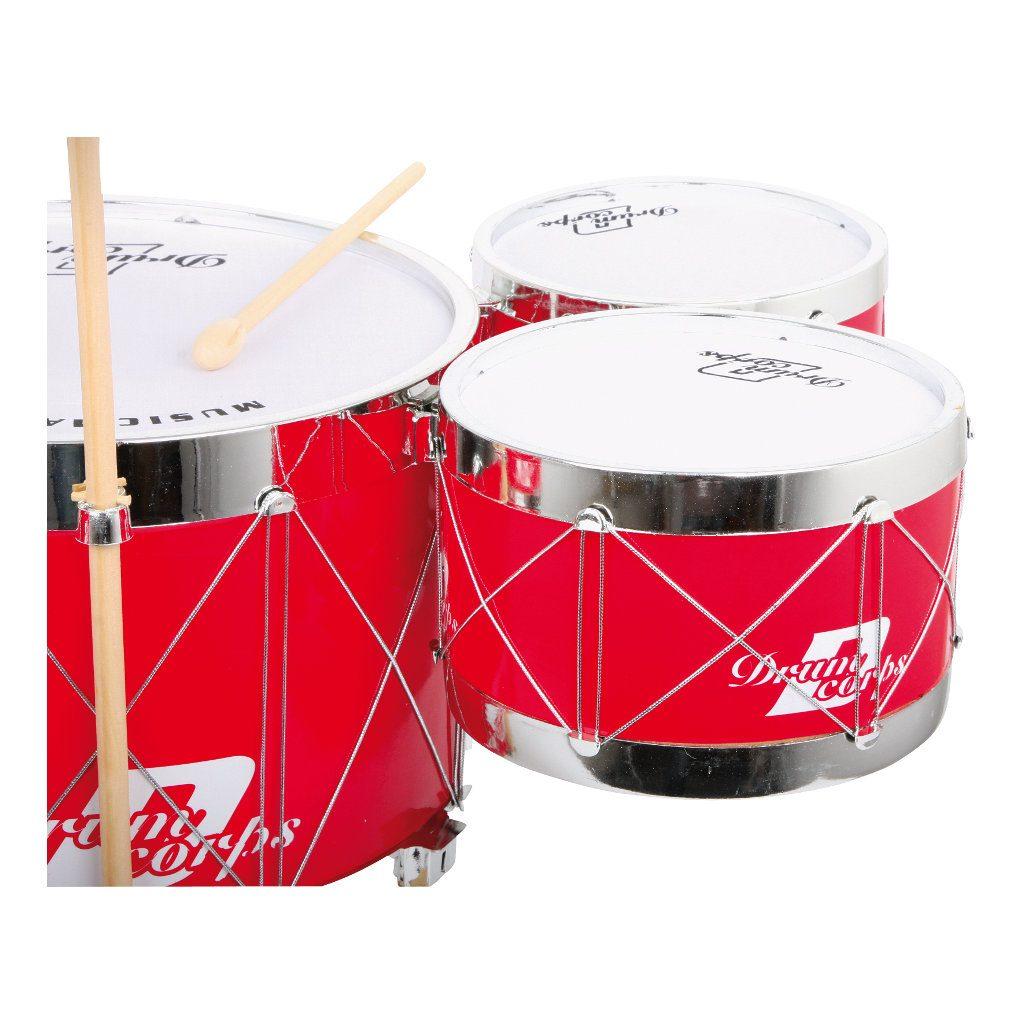 Speelgoed Drumstel Rood
