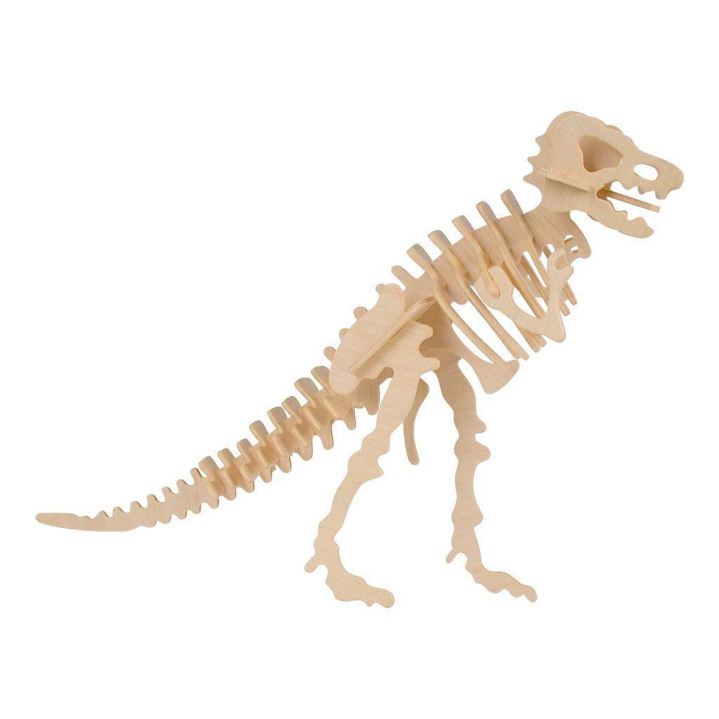 Tyrannosaurus Naturel Constructie Kit 3D