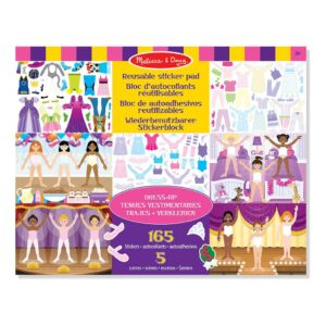 verkleedfeest-herplakbare-stickerboek-voorbeeld-5-vellen-165-stickers-aankleden-dress-up-melissa-and-doug-meli-14198