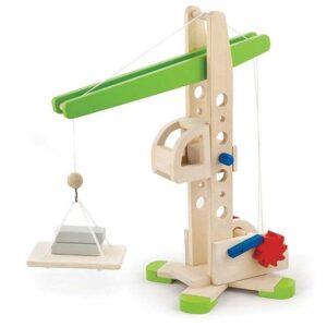 Viga Toys Houten Kraan
