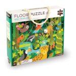 vloerpuzzel 24-delig het wilde regenwoud petit collage peti-5074868