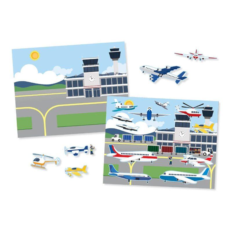 voertuigen-herplakbare-stickerboek-voorbeeld-5-vellen-165-stickers-vliegveld-rails-melissa-and-doug-meli-14199