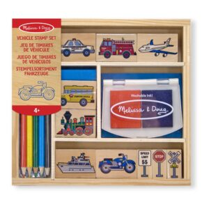voertuigen-houten-stempelset-16-stuks-stempelkussen-potloden-auto-vliegtuig-verkeersborden-melissa-and-doug-meli-12409
