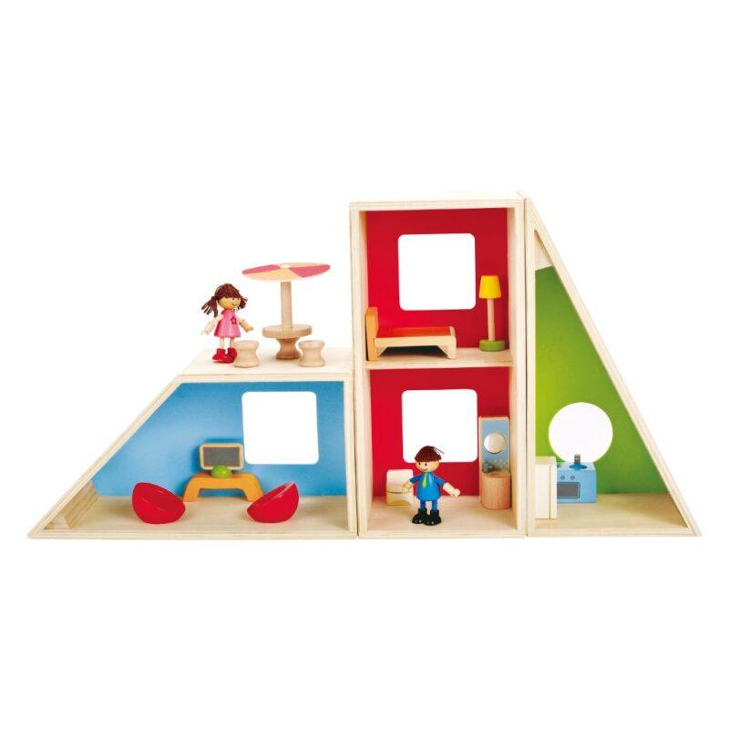 Geometrics Poppenhuis Hape