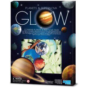 Glow In The Dark Sterren En Planeten 4M Xtra