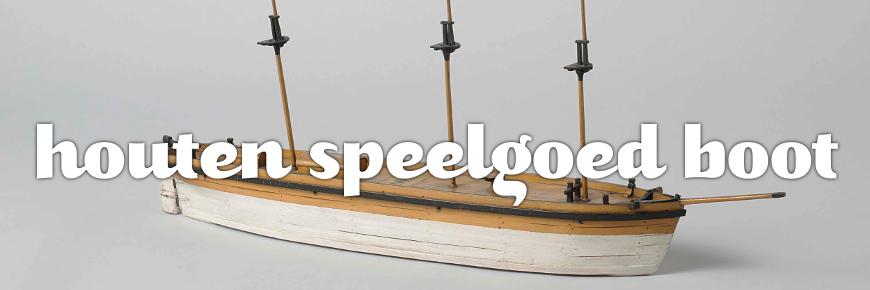houten speelgoed boot
