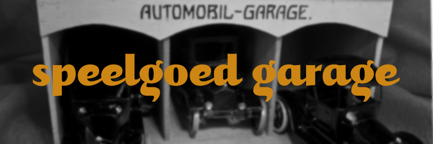 houten speelgoed garage
