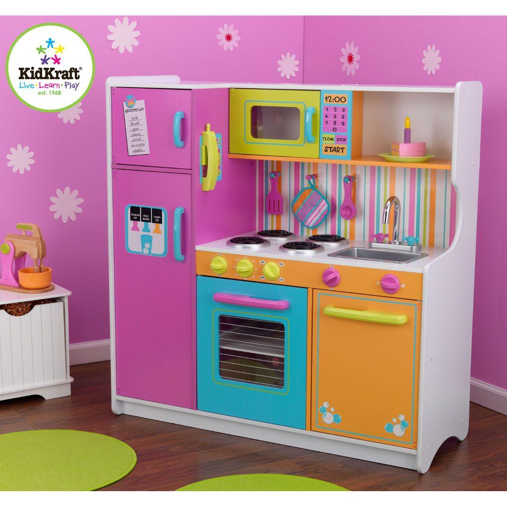 Kidkraft luxe keuken in felle kleuren kopen? ⋆ qiddie