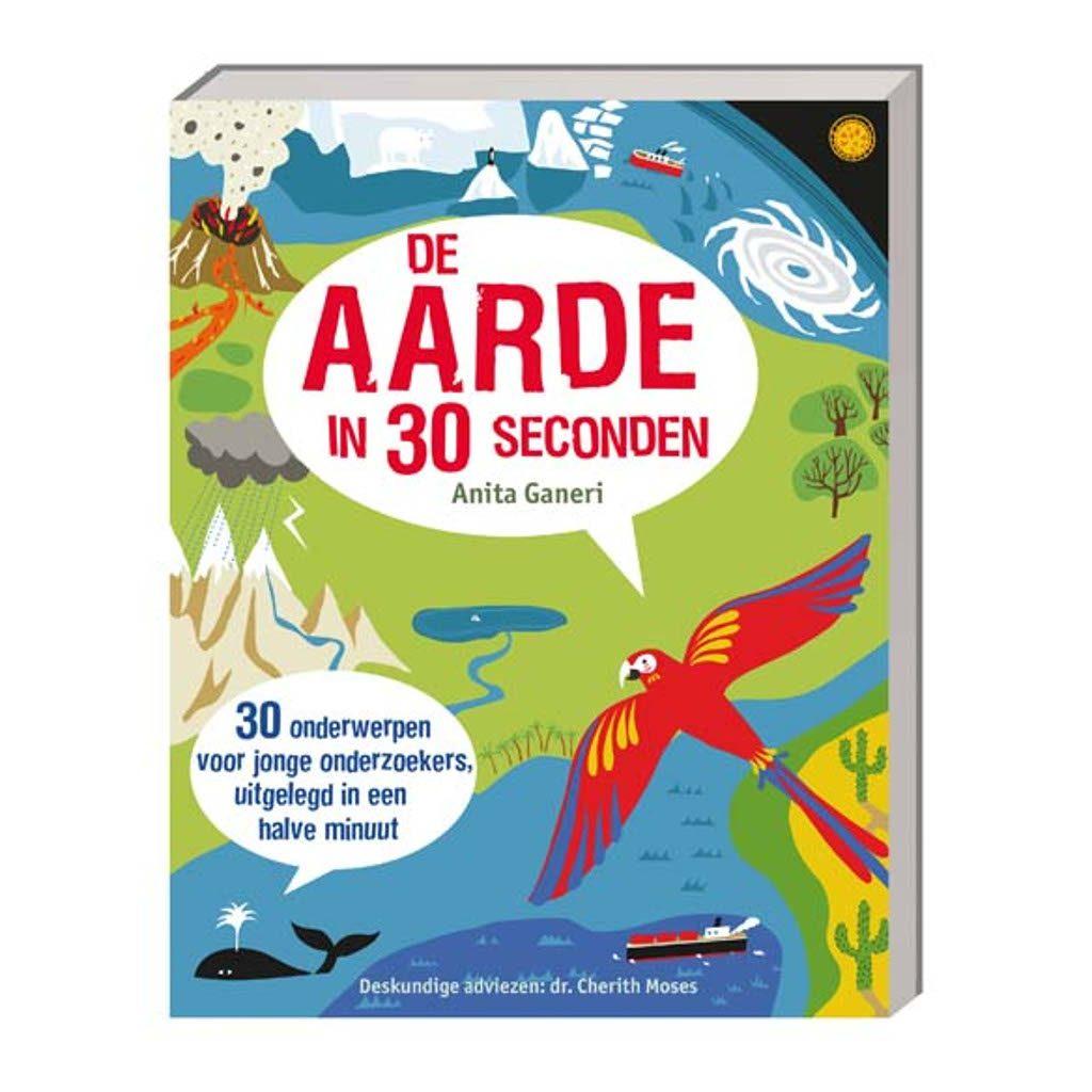 De Aarde In 30 Seconden | Boekje