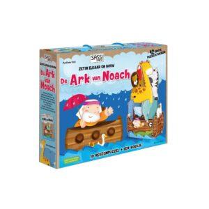 De Ark Van Noach Boekje + 3D Puzzel Sassi junior 9789461885517 lant-885517