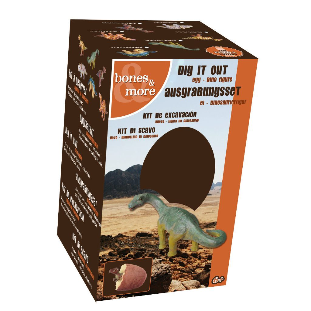 Opgraaf Kit Dinosaurus In Ei