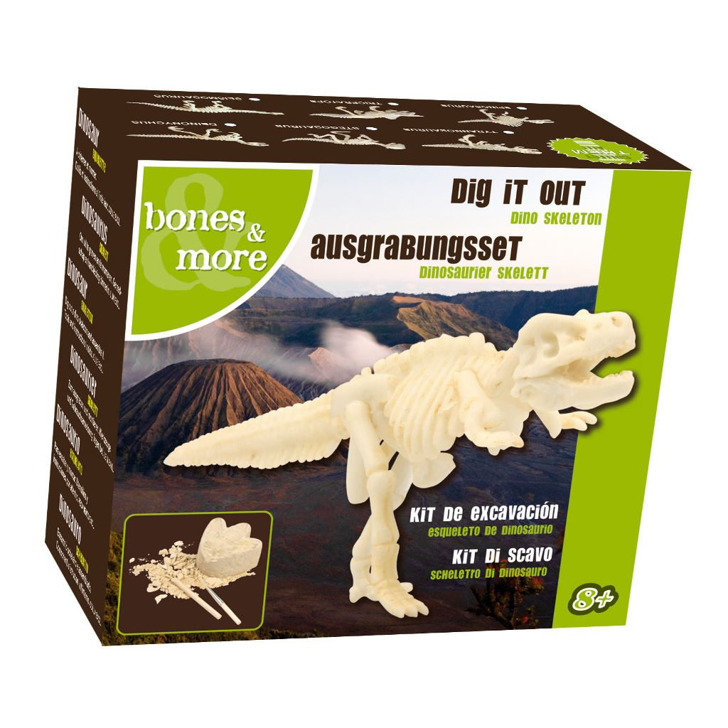 Opgraaf Kit Deinonychus Skelet