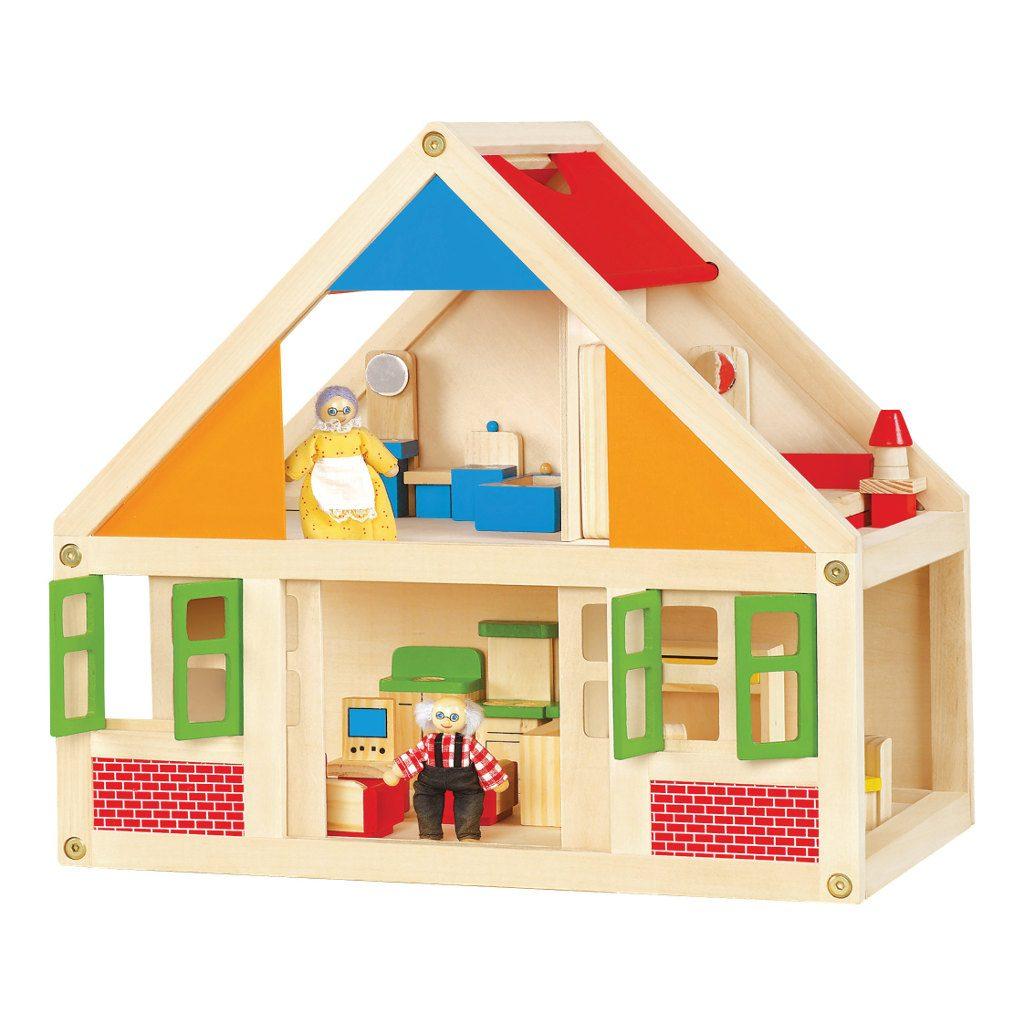 poppenhuis inclusief meubeltjes kopen qiddie