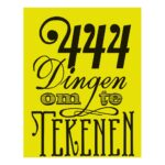 444 Dingen Om Te Tekenen Natekenen Bbnc Bbnc-25016970
