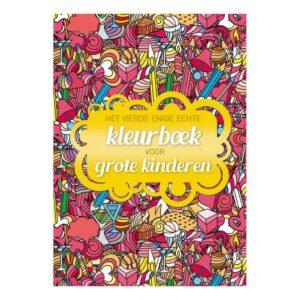 Het Vierde Enige Echte Kleurboek Voor Grote Kinderen Bbnc-25018509 1024X1024