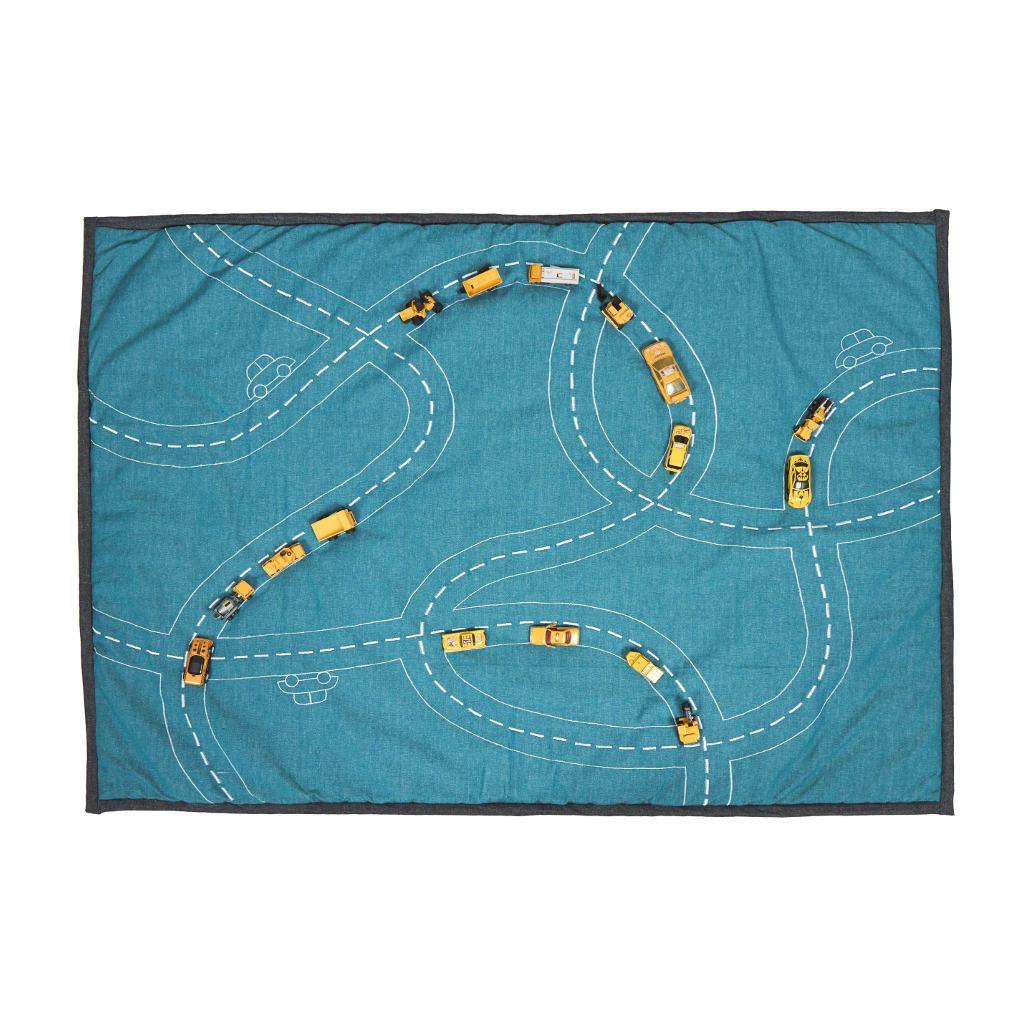 traffic-jam-speelkleed-roommate-lekker-zacht-speelkleed-2-zijde-grijs-blauw-autobaan-blauw-room-31300