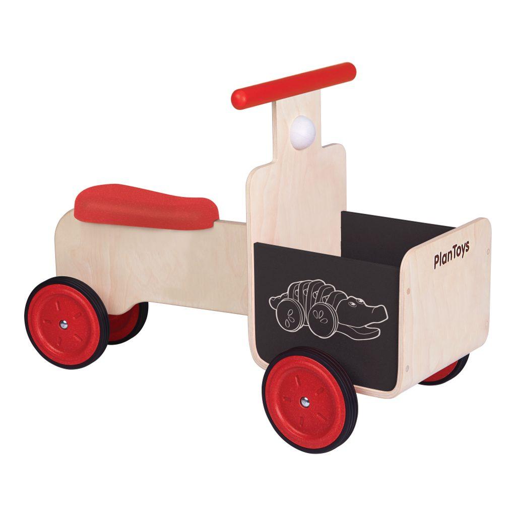 Bakfietsje Met Krijtbord Plan Toys Delivery Bike Laadbak 1 Plan-4003479