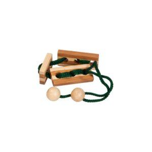 Bamboe Puzzel Met Koordje 132 Hersenbreker rizz-17132