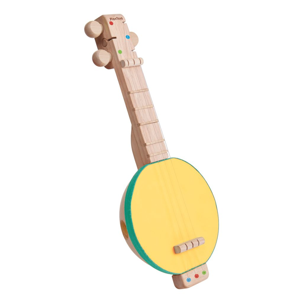 Banjo Geel Plan Toys Andere Zijde Plan-4006436