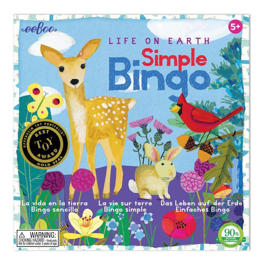 Bingo Spel Life On Earth Eeboo Stevige Stukjes Eebo-9650532