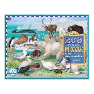 Puzzel 208-Delig Arctic Wildlife Eeboo Stevige Stukjes Puzzel Eebo-9650465