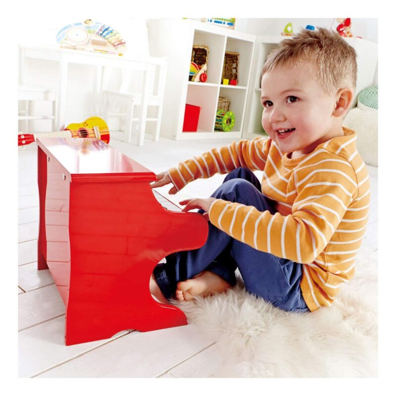 Rood Pianootje Hape Kinderpiano Jongen Sier hape-e0318