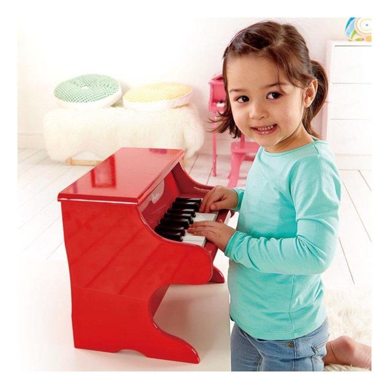 Rood Pianootje Hape Kinderpiano Sier hape-e0318