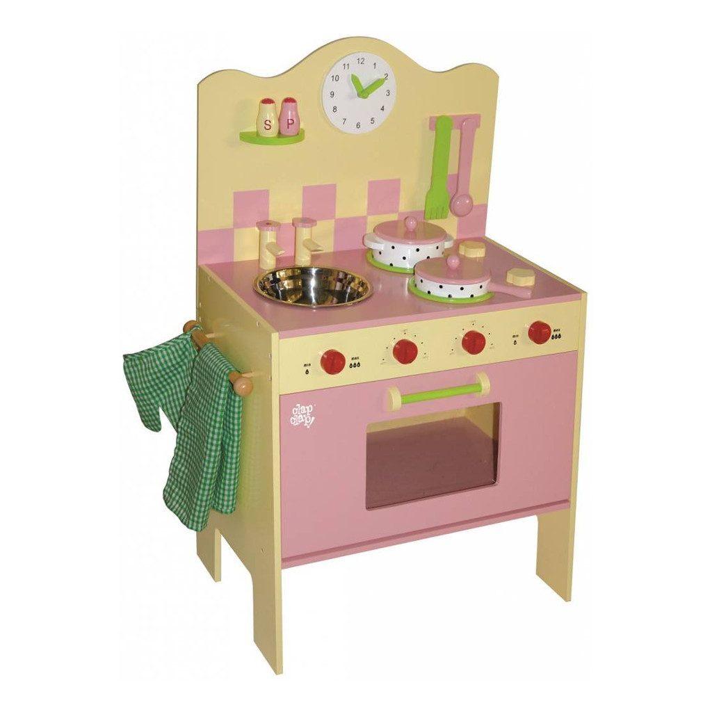 Roze Geel Keukentje ClapClap clap-008001