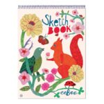 Schetsblok Bord And Squirrel Eeboo Craft Eebo-9650484