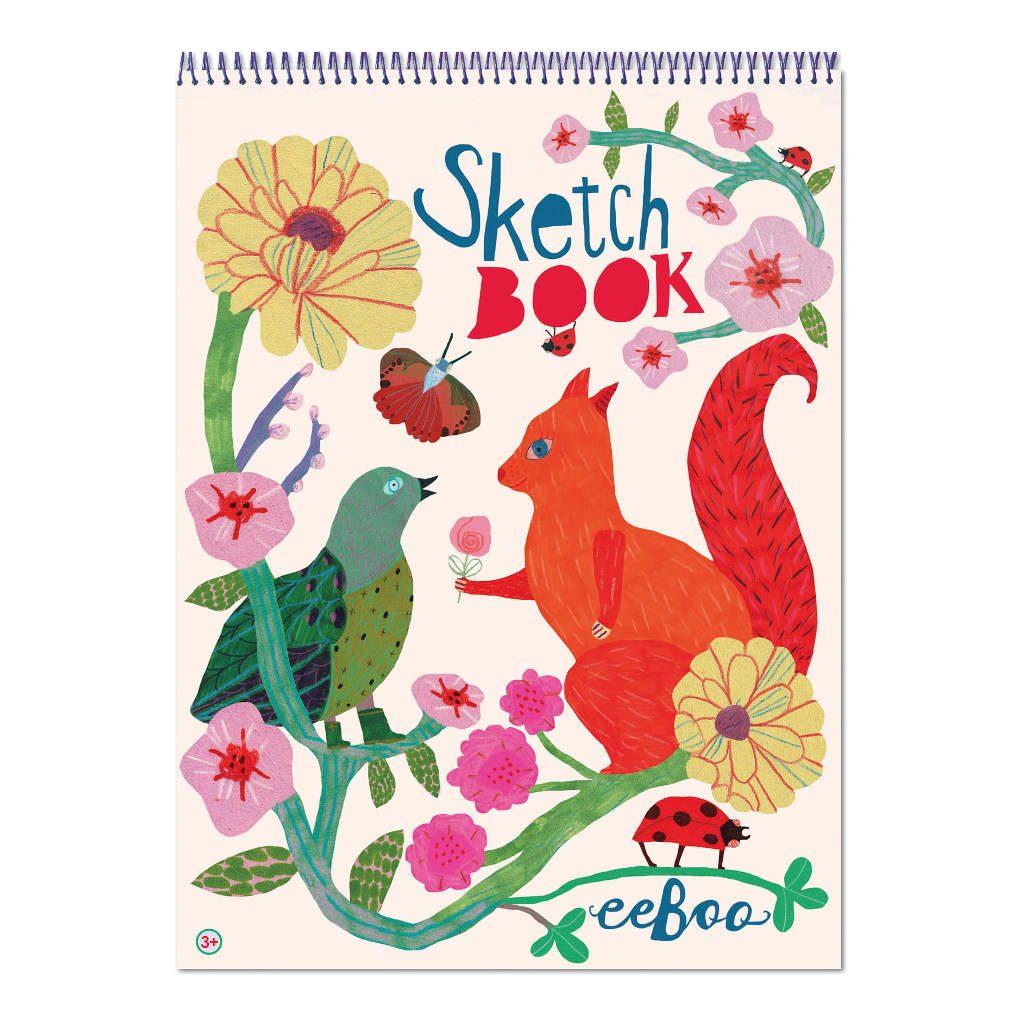 Schetsblok Bord And Squirrel Eeboo Craft Eebo-9650484