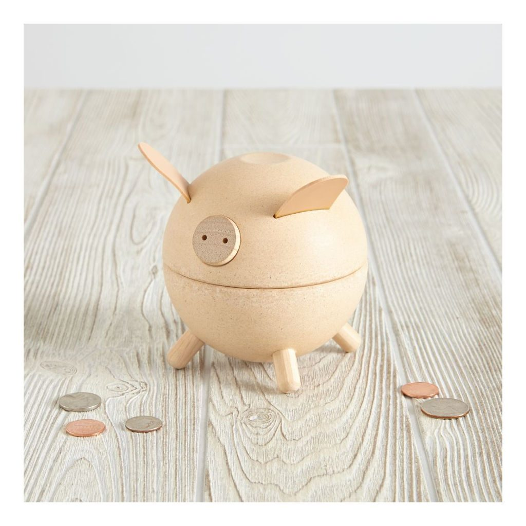 Spaarpot Piggy Bank Blank Mogelijkheden Plan Toys Plan-4006811