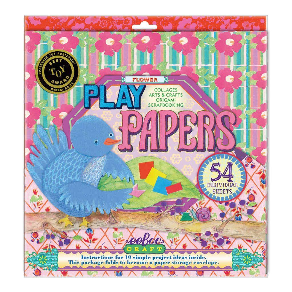 Speelpapier Bloemen Eeboo Eebo-9626035