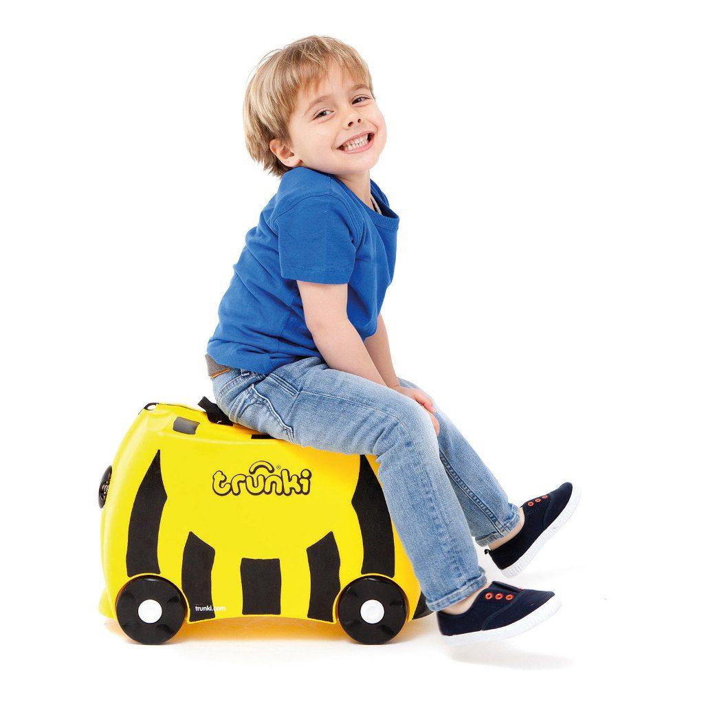 Trunki Bij Trolley Handbagage Speel Logeer Vakantie Koffer Wielen Trekkoort 4 Trunki Trun-9220012