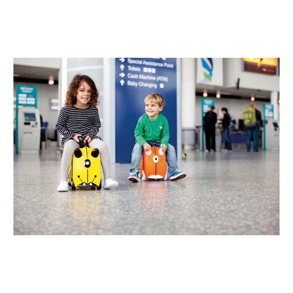 Trunki Bij Trolley Handbagage Speel Logeer Vakantie Koffer Wielen Trekkoort 7 Trunki Trun-9220012