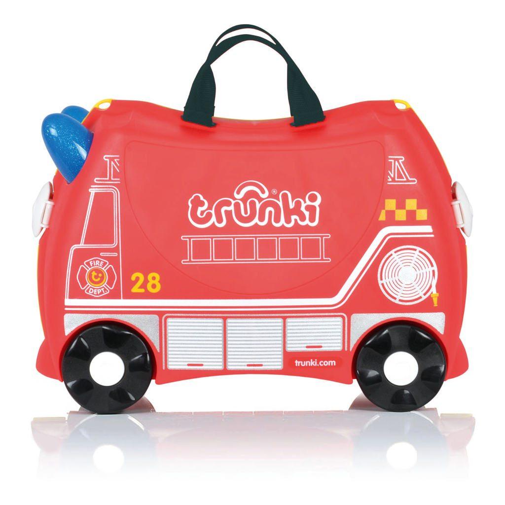 Trunki Brandweerwagen Logeer Koffer Trunki Trun-9220254