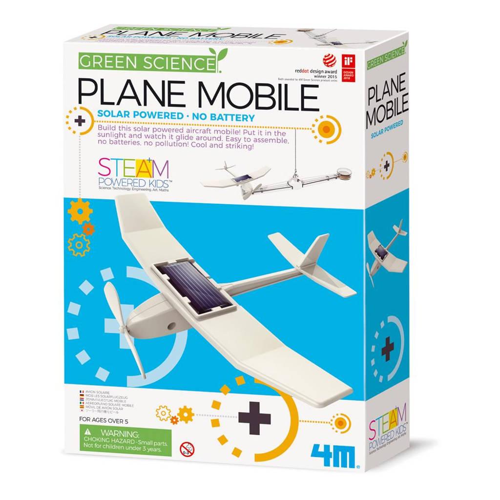 Vliegtuigje Op Zonne Energie 4M Speelgoed Ontdekken Wetenschap Vliegen Zonlicht QIDDIE.com 4msp-5603376 1024x1024