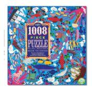 Vloerpuzzel 1008-Delig Onderwaterwereld Eeboo Stevige Stukjes Puzzel Eebo-9650650