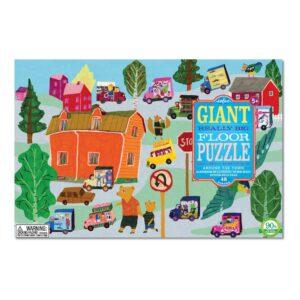 Vloerpuzzel 48-Delig Around The Town Eeboo Stevige Stukken Puzzel Eebo-9650518