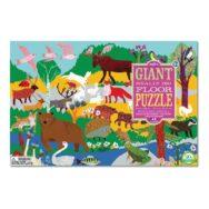 Vloerpuzzel 48-Delig Woodland Animals Eeboo Stevige Stukken Puzzel Eebo-9650519