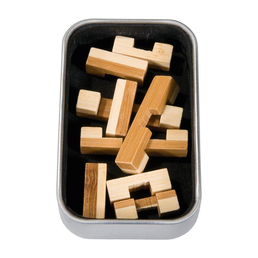 3D Bamboe Puzzel 324 Hersenbreker Inhoud Doos rizz-17324