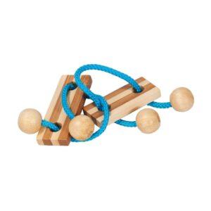 Bamboe Puzzel Met Koordje 135 Hersenbreker rizz-17135