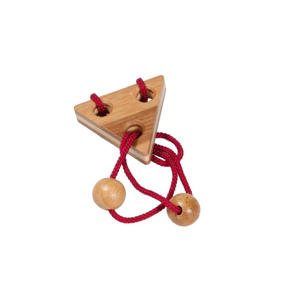 Bamboe Puzzel Met Koordje 136 Hersenbreker rizz-17136