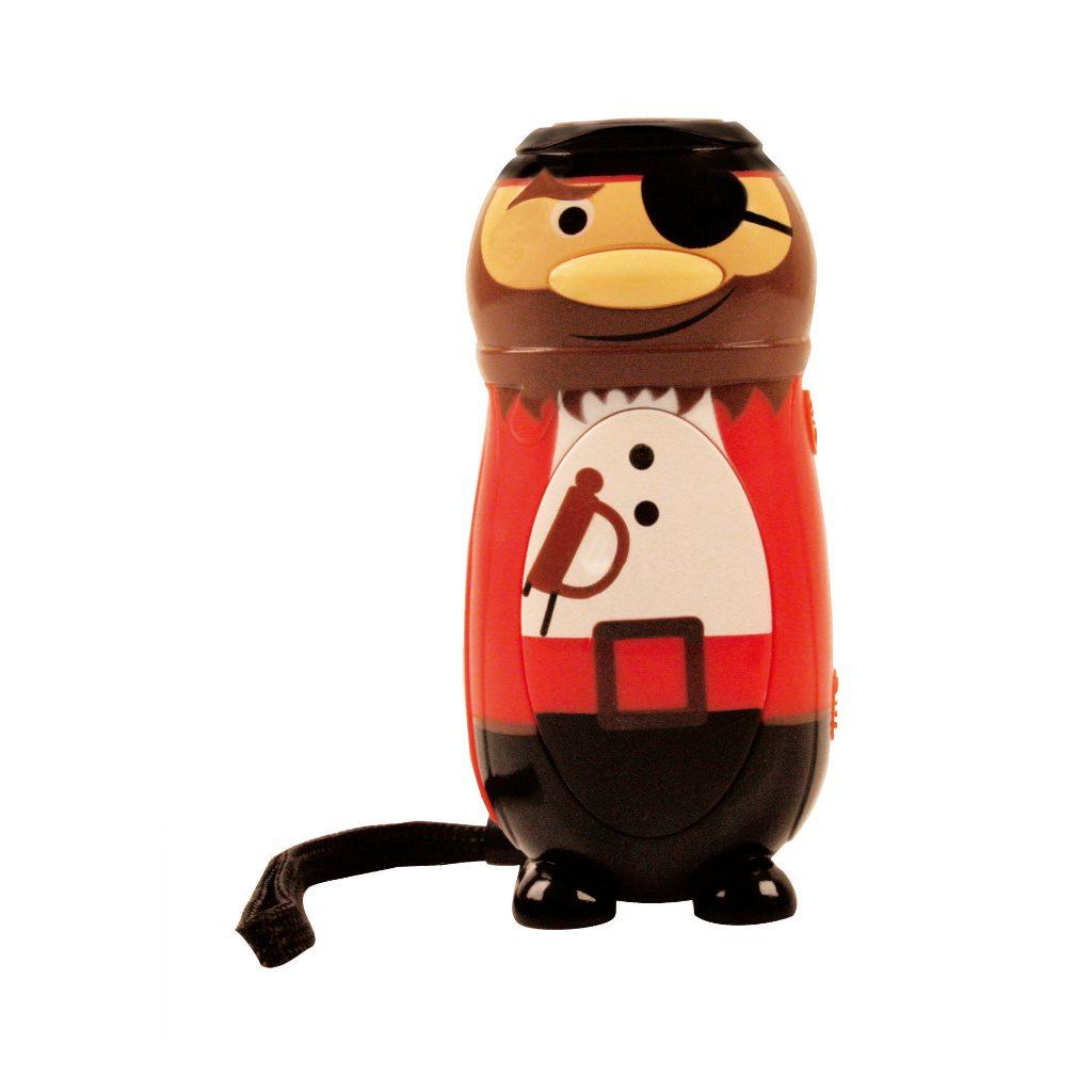 Knijpkat Piraat Rood Wit Voor Zaklamp Geokids Geok-6146905-rw