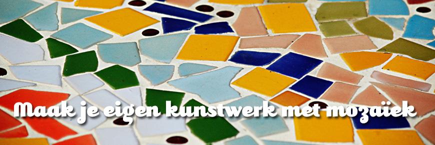 mozaiek knutselen