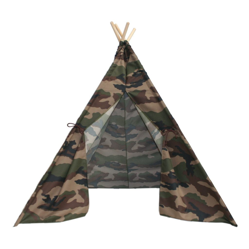 Army Camouflage Teepee Voorkant