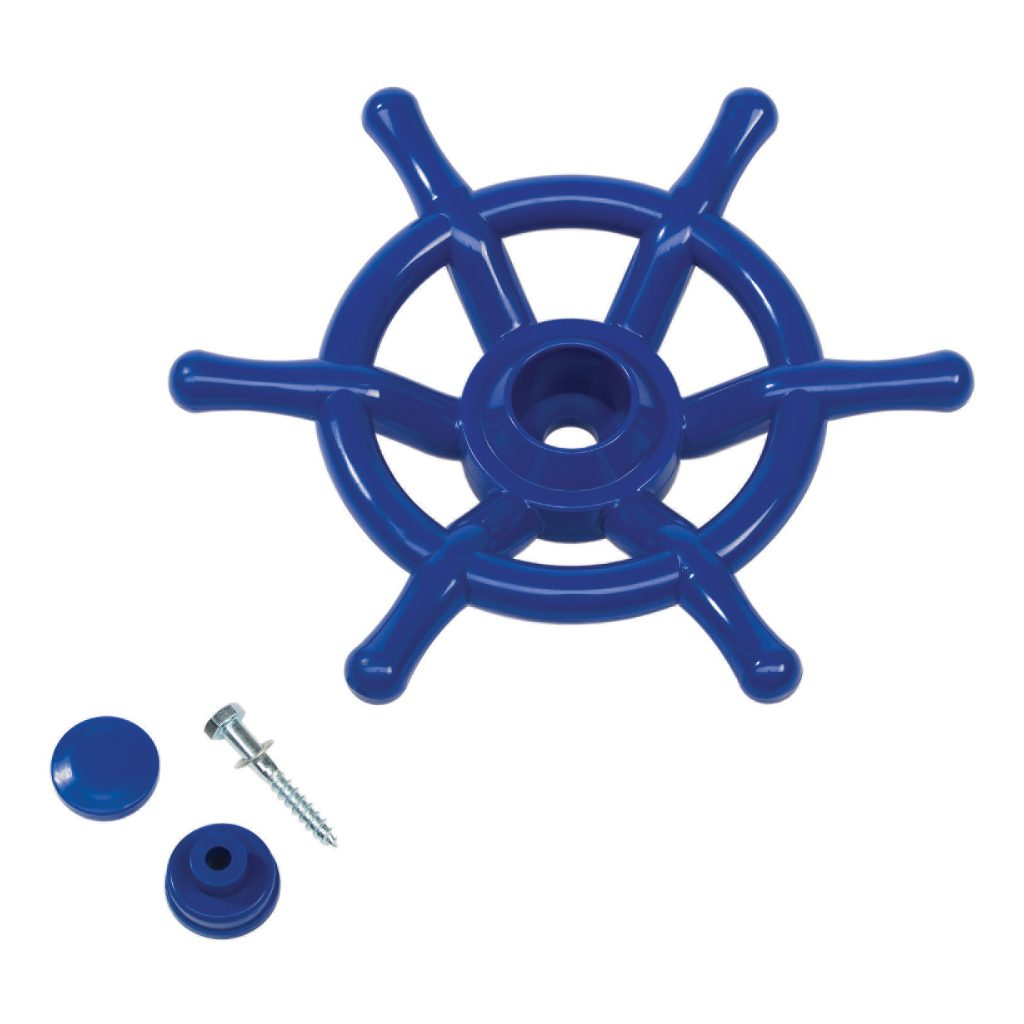 Blauwe Bootwiel Voor Huisje Axi Stuurwiel Axi Axis-A503.010.04