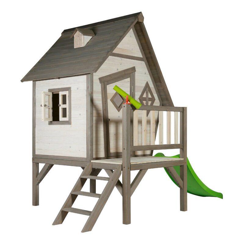 Cabin Xl Huisje Sunny Kinderhuisje Peuter Kleuter Glijbaan Laag Trap Meisje Jongen Sunn-C050.004.00
