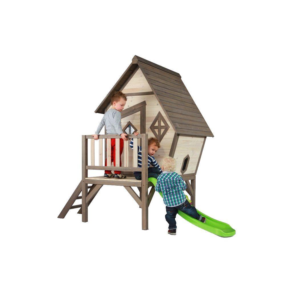 Cabin Xl Huisje Sunny Peuter Kleuter 18 Mnd 2 J 3 J 4 J 5 J 6 J 7 J 8 J Tuin Speel Huis Huisje Stevig Glijbaan Laag Trap Meisje Jongen Sunn-C050.004.00