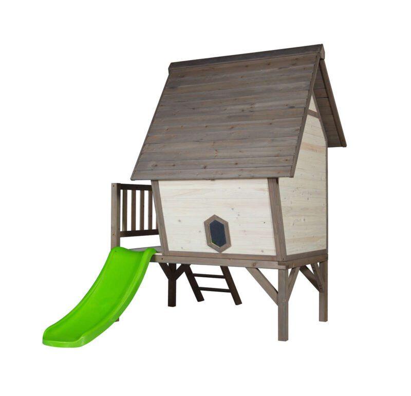 Cabin Xl Huisje Sunny Scheef Huisje Tuinnhuisje Speelhuisje Buitenspelen QIDDIE.com Sunn-C050.004.00